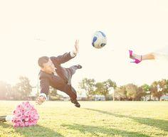 Soccer wedding@Haley Bright