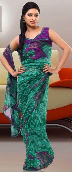 Dark #Green #PreStitched Saree @ $53.80
