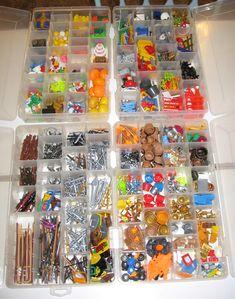 OCD playmobil toy storage!