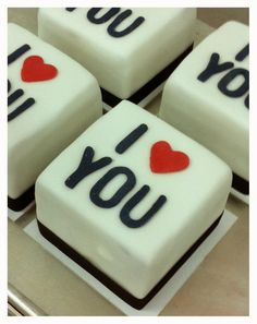 San Valentine Cakes