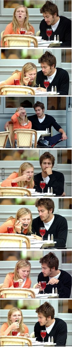 This is me on my first date.