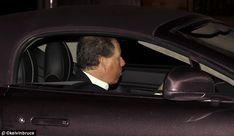 Lord Linley arrives at Bagshot Park, Surrey for Prince Edwards 50th Birthday Party 9 Mar 2014