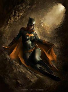 Batgirl by Daniel M Chavez