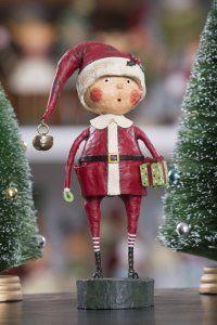 Playing Santa by Lori Mitchell at TheHolidayBarn.com Lori Mitchell Christmas