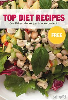 We put 10+ of our best diet recipes in a FREE downloadable cookbook.
