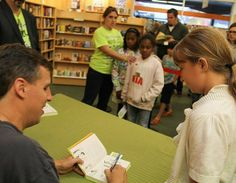 Press Democrat | Gallery | 'Wimpy Kid' book signing  #JeffKinney  #NotEvenTired