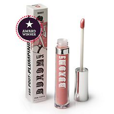 Buxom Big & Healthy Lip Polish.    I have used Buxom lip polish for long before I had Pinterest, I loved it them and love it now!