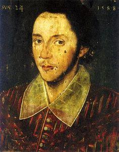 William Shakespeare age 24
