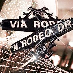 Swarovski Elements #LetItSparkle on Rodeo Drive during holidays 2011.