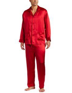 Mens Silk Pajama set