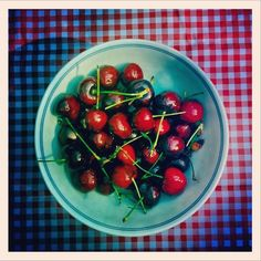 A bowl of cherries. (Allison V. Smith)