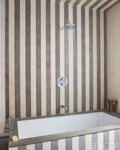french and portuguese limestone stripes...