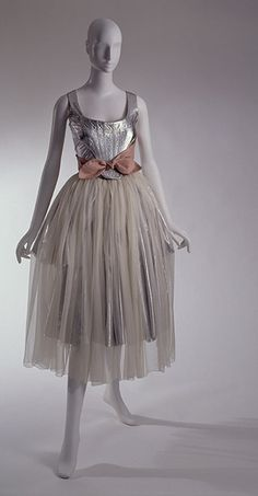 """Vivienne Westwood  """"Statue of Liberty"""" ensemble  Time Machine collection  Autumn 1988, England  The Museum at FIT"""