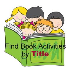 book with activity, books, read confetti, kid activ, school stuff, preschool idea, educ, kid book with activities, library activities for kids