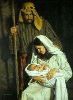 christma nativ, jesus, christian art, paint art, navidad, savior, barrett, nativity, robert