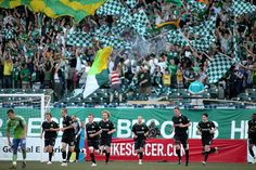 Portland Timbers - nothing in the U.S. like the fans in Portland!