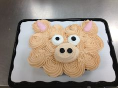 cupcak cake, piggi cupcak, pig cupcake cake, cup cake, cupcake cakes