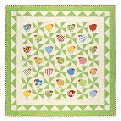 Chubby Chicks at blackmountainquilts.com.  Can I do one more chicken themed quilt?  Oh, probably.