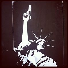 Beyond #dope Statue of Liberty poster...can you say new background?