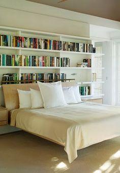 #books #bedroom