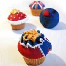beauti cake, cupcak idea, cupcake recipes, jubile cupcak, cup cake