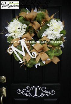 Spring Decor Wreath Spring Wreath Spring Mesh by poshcreationsKY, $89.00 #trendytree #springwreath