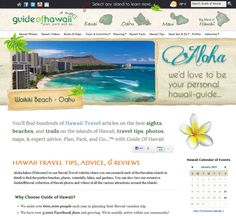 You'll find hundreds of Hawaii Travel articles on the best sights, beaches, and trails on the islands of Hawaii, travel tips, photos, maps, & expert advice.