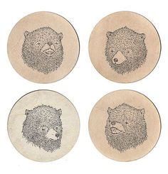 sifflement:    Bear Coasters (by SE▲N MOЯЯIS)