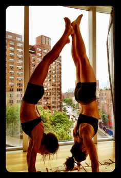 """""""This is how fitness freaks goof off,"""" Jenna Wolfe, TODAY anchor and personal trainer, tweeted earlier today.     (Jenna's on the right -- her fellow fitness guru and trainer, Amanda Russell, is on the left.)"""