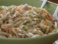 Asian Chicken Salad    KitchenDaily.com