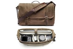 CAMERA AND LAPTOP MESSENGER BAG   BY ONA BAGS   Image
