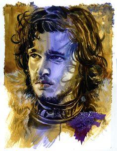 Game of Thrones - Jon Snow by Ken Meyer Jr.