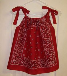Bandana Dress for your Little Cowgirl