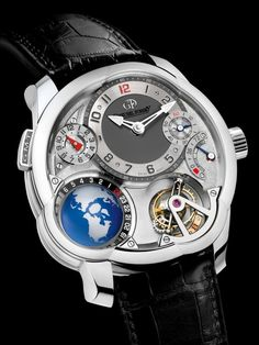 Billionaire Francois-Henri Pinault's Watch, gifted by his father:  Greubel Forsey GMT ($500,000)