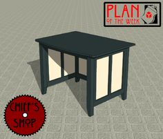 Plan of the Week: Home Office Desk