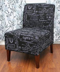 Look at this #zulilyfind! Tiffany Script Chair #zulilyfinds