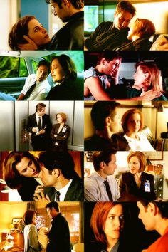 """X Files - Mulder and Scully  """"I do not gaze at Scully."""""""