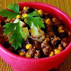 Southwestern Black Bean Stew Allrecipes.com