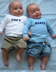 .if i ever have twins...... they shall wear stuff like this :D