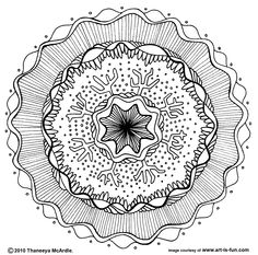 Free Mandala Designs to Print