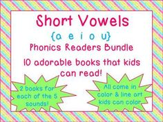 Short Vowels Readers Bundle