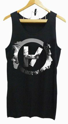 Tank top Girl and Mens twenty one pilot logo tank by #T Shirt Collections #TeeSpring
