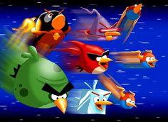 An Angry Birds Space Fan Art!