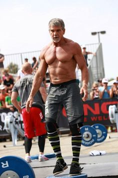 Beware of strong old guys doing CrossFit.  They bring mature ass kicking.