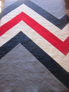 Elven Garden Quilts: Giant Chevron Pattern Release