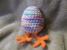 Easter Egglet - Free Crochet Pattern
