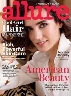 Jennifer Connelly by Carter Smith for Allure February 2014