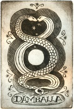 Hoodoo Magick Rootwork:  Damballah.