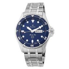 Bulova Men's 98C62 Marine Star Watch $118.00