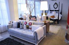 Studio apartments on pinterest rashida jones room for Bachelorette apartment